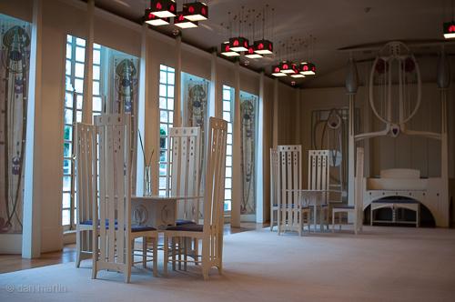 House for an Art Lover - Music Room