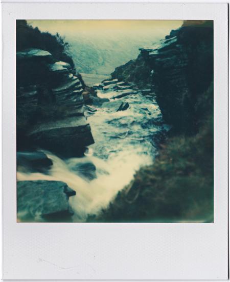 Stream running off the mountainside