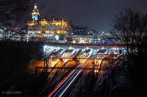 Edinburgh at Night 2