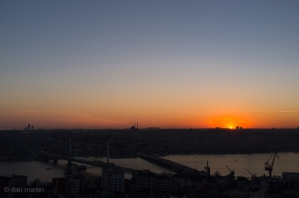 Istanbul Sunset #3