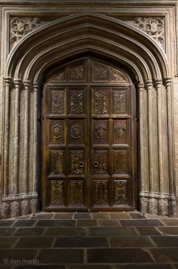 Great Hall main door. Oh the lovely detail..
