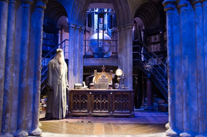 Dumbledore's Office - Such a beautiful set with great depth and levels.