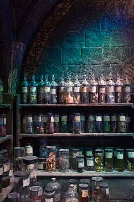Potions Classroom. All those labels. So time consuming, but wonderful.