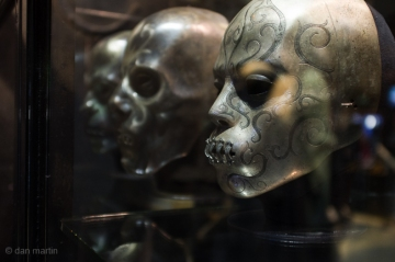 Again such detail and intricacy on these death eater's masks.