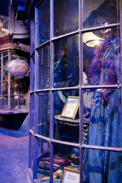 Diagon Alley Shop fronts.