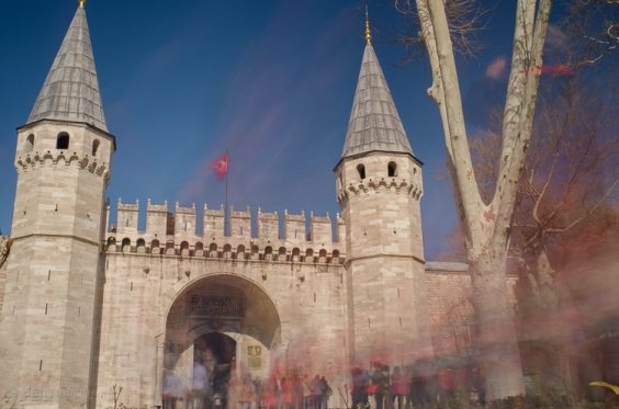The Gate of Salutation - entrance to the second courtyard of the Topkapi Palace.
