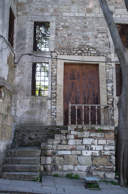 Lovely old stone walls - a door that leads to?