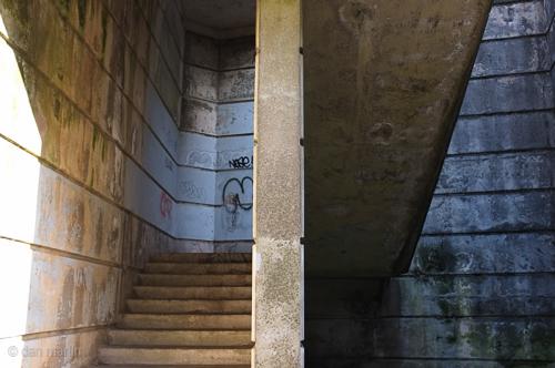A Split Division of concrete Urban