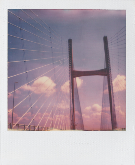 Ascending to Heaven Polaroid SX-70