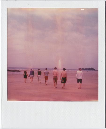 Summer Times Beach Fun Polaroid SX-70