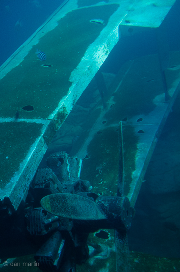 Underwater remains a story: something that does not belong