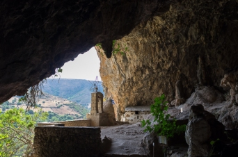 Cave church in the mountains