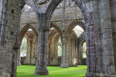 Inside Tintern Abbey