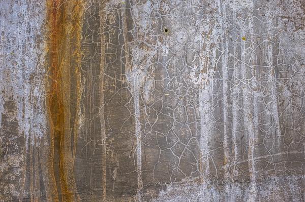 Scrapes & cracks; Rust that runs