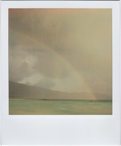 Elafonisi Rain & Rainbow
