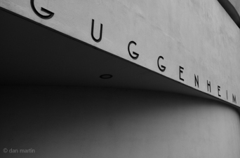 Guggenheim Museum - a lovely building.