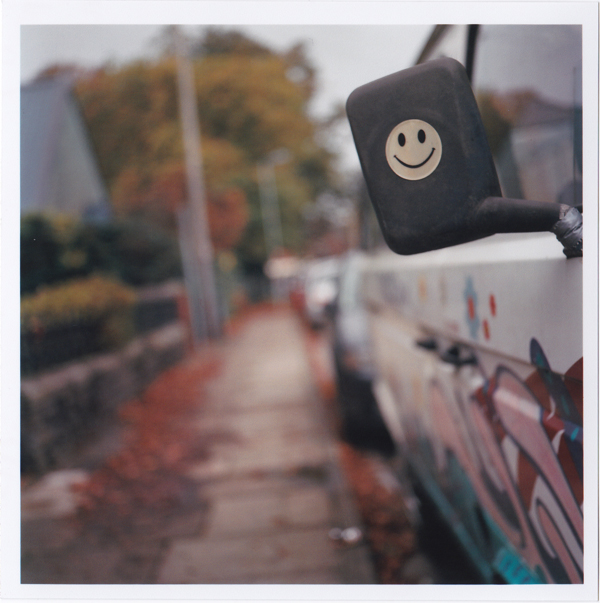 Peace, Love & Happiness. Yashica Mat 124-G