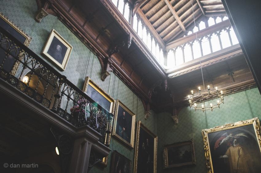 Tyntesfield house hallway