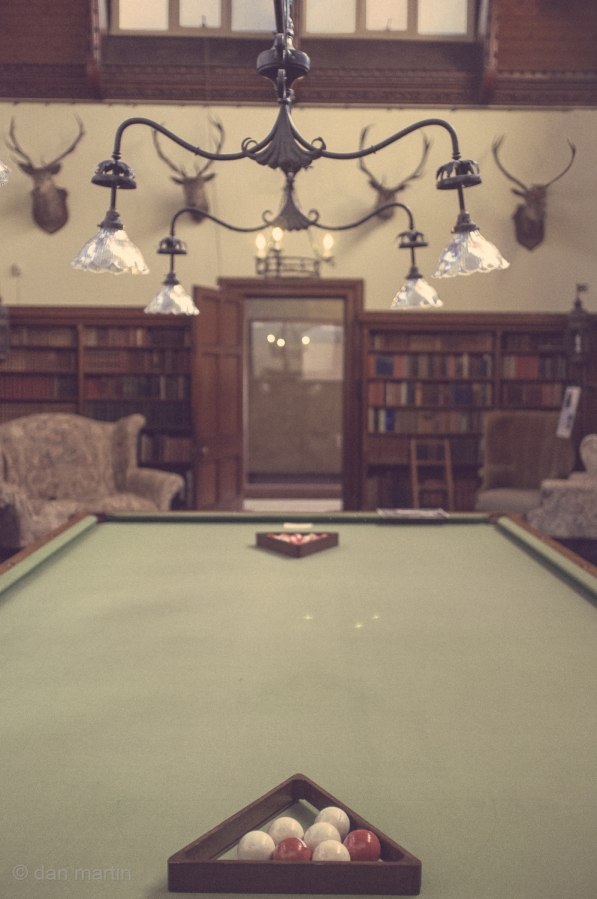 A Game of Billiards, you say? #Tyntesfield House