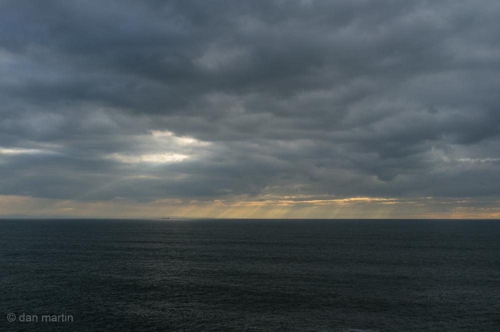 A break in the clouds #2
