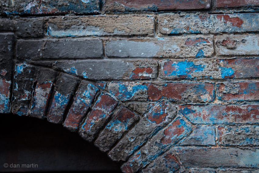 Fireplace of Blue & Brick St. Catherine's Fort, Tenby