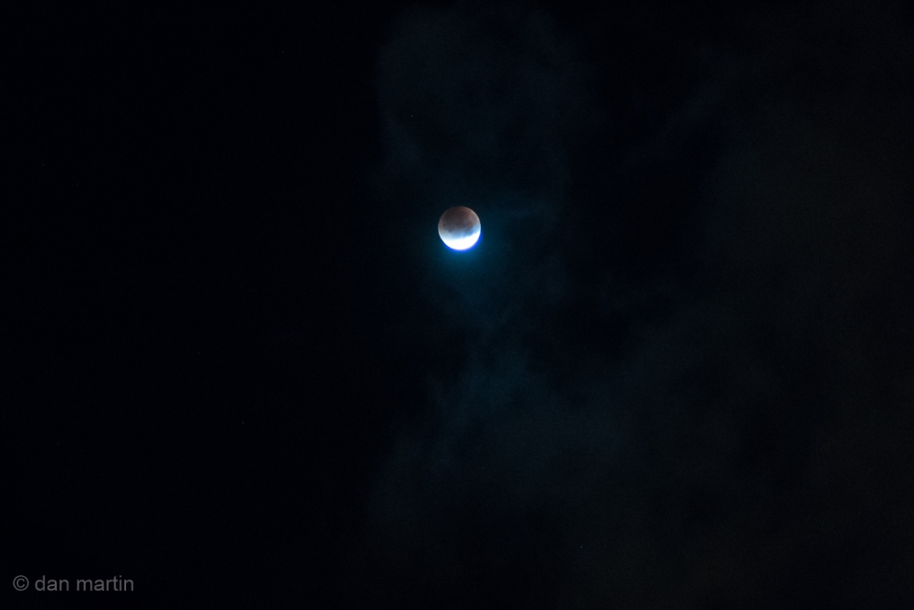 September 2015 'Blood Moon', a total lunar eclipse of a super full moon.