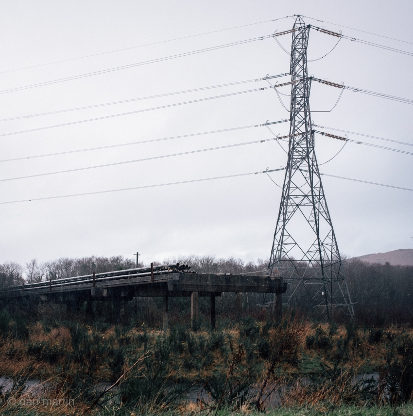 Desolation. Post Apocalyptic. Or just rainy Wales.