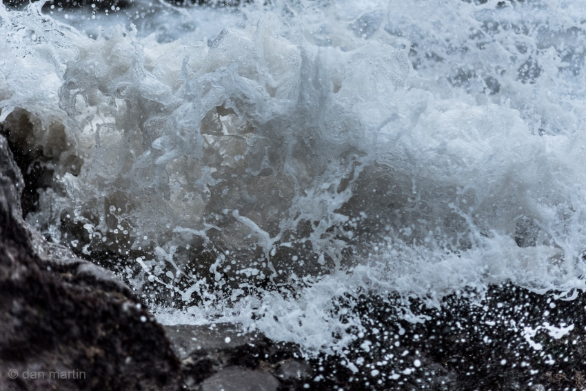 Frozen. Captured. Momentum and energy; waves never to cease. 1/3200 of a second.