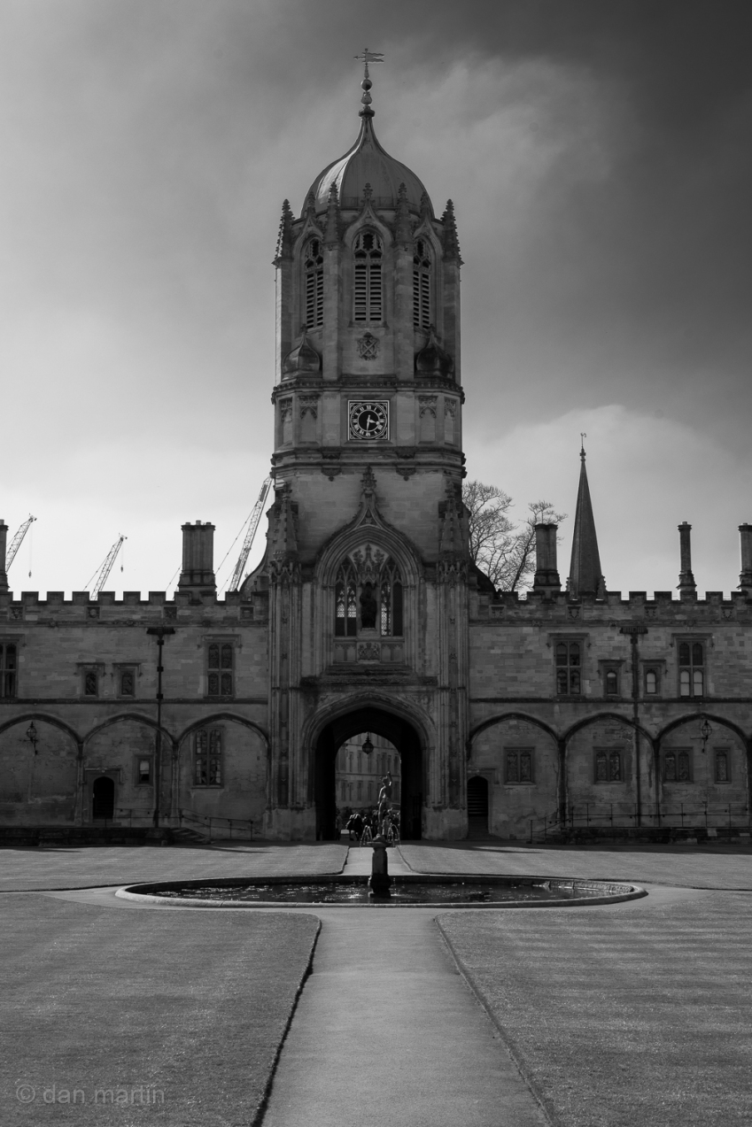 Christ Church College, Oxford University. An amazing institution full of history.