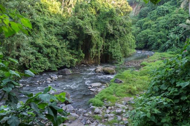 Tegenungan Waterfall River