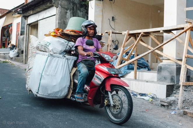 Heavy load mopeds