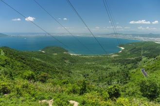 Looking south towards Da Nang