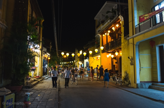 Hoi An at night - a beautiful town