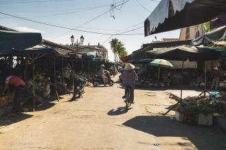 Market street, Hoi An