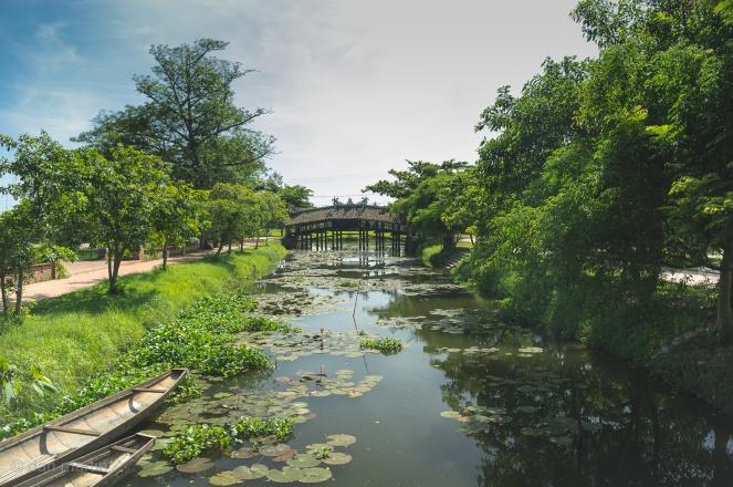 Thanh Toan Bridge Vietnam