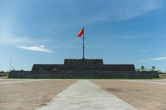 Citadel Flag Tower Hue Vietnam