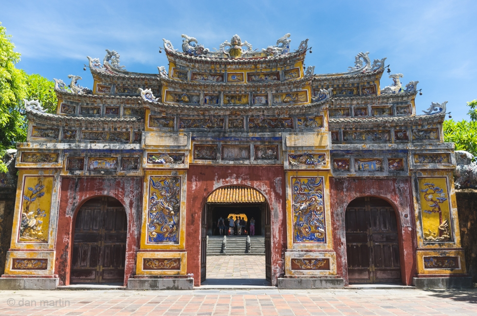 Royal Palace Hue Vietnam