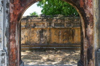 Hue Palace Walls Vietnam