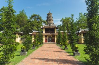 Thiên Mụ Pagoda Vietnam