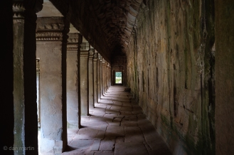 Great long corridor of stone.