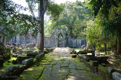 Great light here, at Preah Khan.