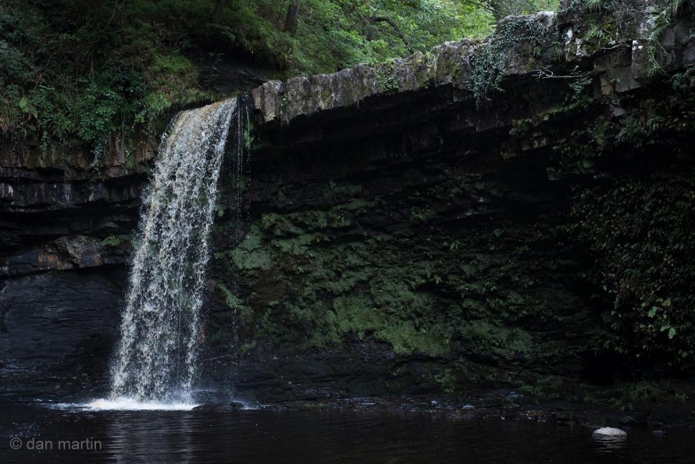 'Sgwd Gwladys' waterfall