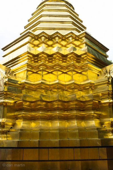 Amazing gold clad structures.