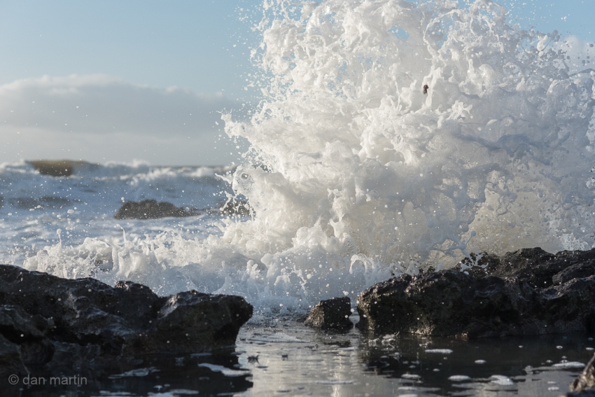 Ok, So I enjoy taking photos of waves & water. Its hard not to be entranced by it and the never ending display of power and energy.