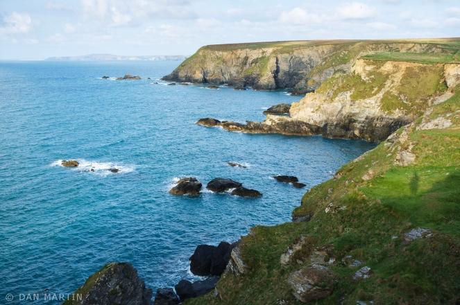 The glorious Cornish Coastline