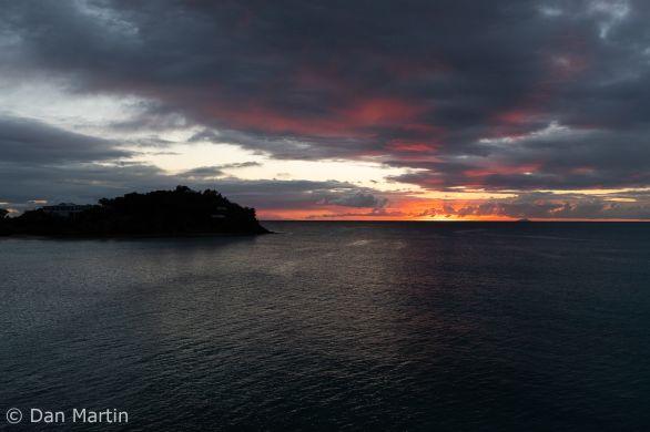 Sunset from Sheer Rocks
